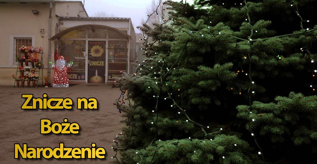 Znicze Boże Narodzenie